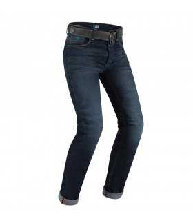 Jeans moto Pmj Cafe Racer Legend bleu