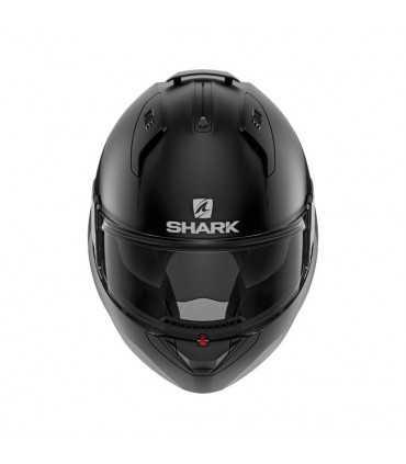 Shark Evo Es Blank nero opaco