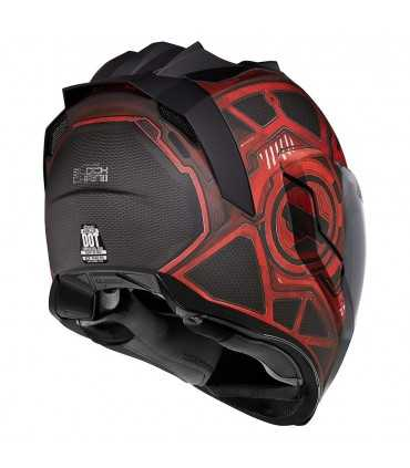 ICON AIRFLITE BLOCKCHAIN HELMET RED