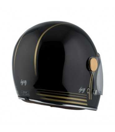CASQUE BY CITY ROADSTER GOLD BLACK