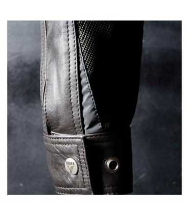 BY CITY SAHARA LEATHER JACKET BROWN