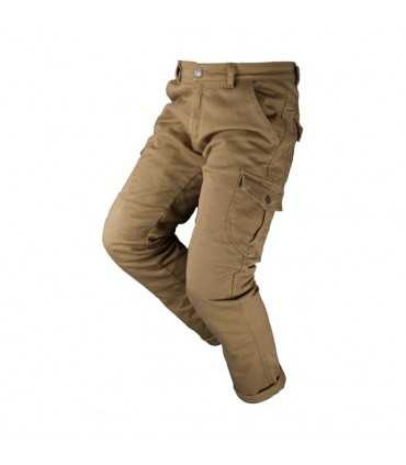 JEANS MOTO BY CITY MIXED SLIM BEIGE