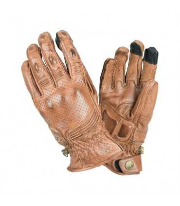 BY CITY RETRO GLOVES BROWN