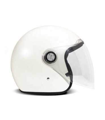DMD P1 jet helmet white pearl