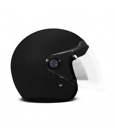 DMD P1 jet helmet black matt