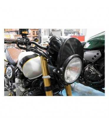 Yamaha XJR1200-1400 C-RACER HEADLIGHT MASK BLACK