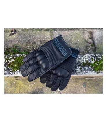 Leather gloves Roeg FNGR black